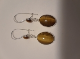 Tiger EyeEar Wire Earrings