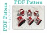 Sorel Baby Boots Crochet Pattern