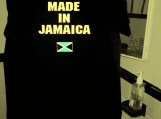 Made in...  T-Shirt with Hand Painted Sign or any Flag you wish