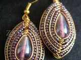 Royal Spirit shield earrings- from Zayunu by Design.