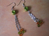 Green Cherie Earrings
