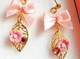 Romantic Secert Garden Swarovski Crystal Earrings