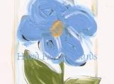 lush blue flower