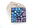ON SALE: Square Mosaic Pendant