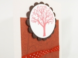 Valentine or Anniversary Card - Love Tree