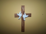 Dove Cross - Scoll Sawed