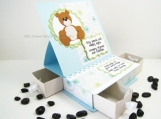 Baby Keepsake Box Teddy Bear Boy