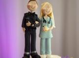 Wedding Cake Topper - Paramedic and Nurse
