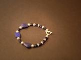 Lapis Lazuli and Sterling Silver Bracelet
