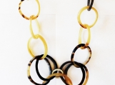 Necklace Handmade Organic Horn
