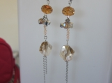 Ophelia swarovski crystal earrings