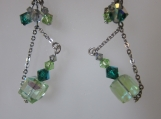 toto green earrings