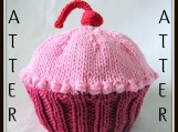 Boston Beanies Baby Cupcake Hat Pattern, knit