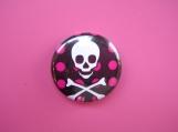 Skull and Dots Pin