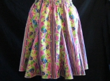 Lovely Floral Full Skirt