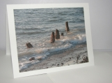 Old Pier N Tide Photo card, note card