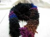 Really Fun Multicolor(Black/Blue/Brown/Magenta) Scarf & Hat Set