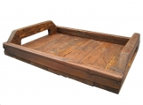 Primitive Wood Tray wooden serving tray style 501