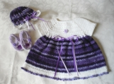 Lush Lavender 3 Piece Dress Set