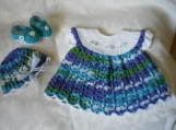 Ocean Waves Newborn 3 Piece Set