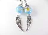 Sky angel wing earrings