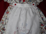 Tea Time Friends Button-On Pinafore Dress size 3