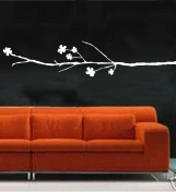 """ShaNickers-""""Cherry Blossoms"""" Wall Decal, FREE SHIPPING"""