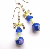 Bonny Blue Butler earrings