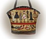 Tootles Boutique Bag - Fashionista Dresses Designer Fabric