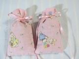 """Easter Pink 3""""X2"""" Sachet-'Raspberry Lemonade' Fragrance-285"""