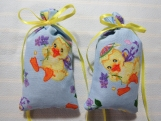 """Easter 4""""X2"""" Sachet-'Floral Violet' Fragrance-Cindy's Loft-145"""