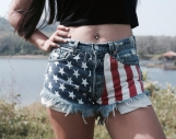 Levis High waisted denim shorts Grunge Hipster Tumblr clothing A