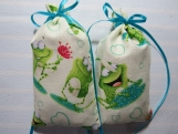 "Frogs 5""X2"" Sachet-'Summer Splash"" Scent-Cindy's Loft-314"