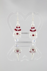 """""""Grapes"""" earrings with Swarovski  bicones"""