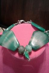 Jade & Agate beads Bracelet