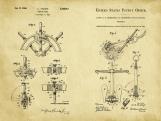 Nautical II Patent Art Duo-U.S. Shipping Included