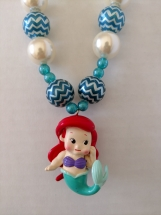 Girl's Mermaid Necklace