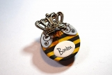 Bee Dog Tag / Pet Tag / Queen Bee Dog Tag