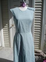 Linen/Cotton Blend  Dress
