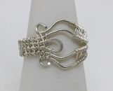 Woven Wire Filigree Ring