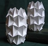 Handfolded Paper Tea Light Shades