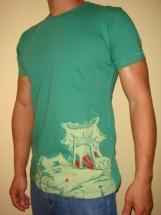 Chinese Padoga Vintage Design - Men T-shirt