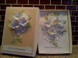 Wedding Card and Matching Box, Custom Order