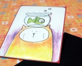 ACEO - Meow and Fish