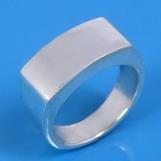 925 Sterling Silver Plain Fashion Ring