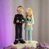 Wedding Cake Topper - Paramedic and Nurse
