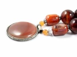 Ethnic india inspired necklace.