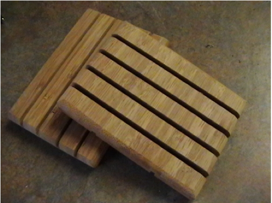 Bamboo Wood Soap Dish-shippingincluded in price