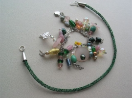 Viking knit Belle Ami with charm bracelet