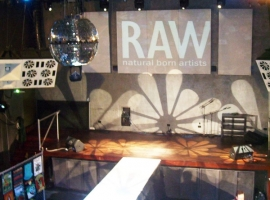 Runway at the RAW event.